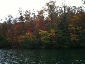 fall on Big Canoe lake